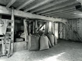 Ground floor sack storage area, Woodbridge Tide Mill, Suffolk