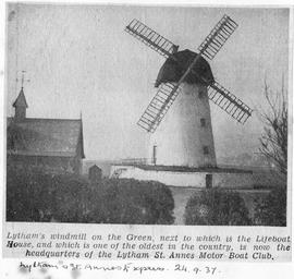"""Lytham's Windmill on the Green"""