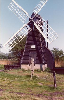 Smock windpump, Wicken Fen, Cambridgeshire