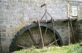 Nanjulian Mill, St Just in Penwith  - water wheel