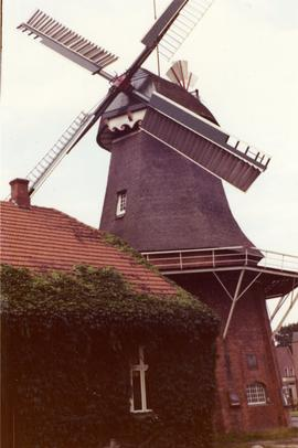 Preserved smock mill, Remels, Germany, 1972