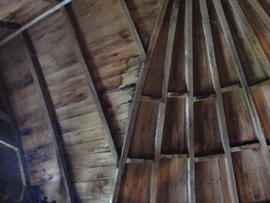 Cap roof/dormer framing, Great Mill, Haddenham