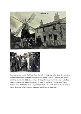 Shaws of Stickford Mill