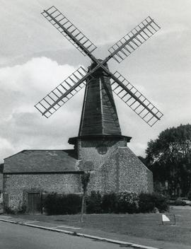 Smock mill, West Blatchington, Sussex