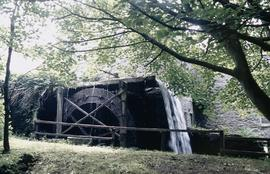 Anglesey Corn mill waterwheel