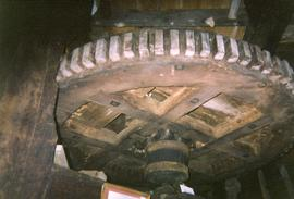Great spur wheel, North Common Mill, North Chailey