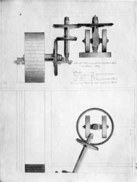 Design for Mr Walton's double stack of Powder Mills at Waltham Abbey