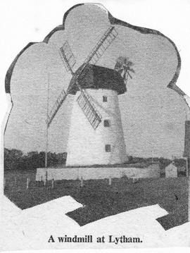 """A Windmill at Lytham (Picture)"""
