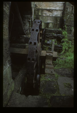 Top Forge, Wortley, Sheffield, water wheel rim detail