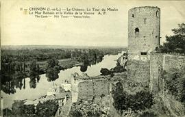 """Chinon (I-et-L) - Le Chateau. La Tour du Moulin"""