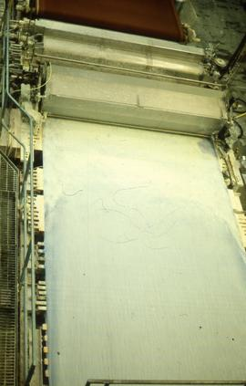 """Papermaking - Oakenholt Mill - Wire with [?perch]"""