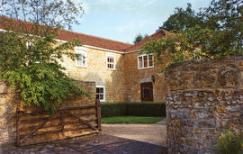 Castle Cary, mill house - grain mill
