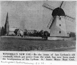 """Windmill's New Use - Lytham Windmill (picture)"""