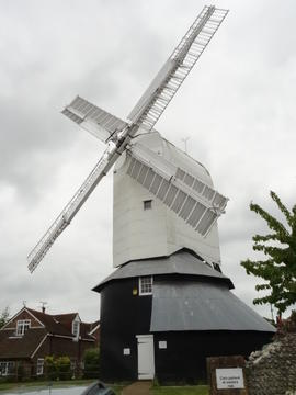External view, Windmill Hill Mill, Herstmonceux