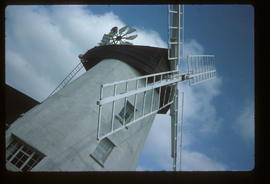 View of the Sails, Gibraltar Mill, Great Bardfield, Essex