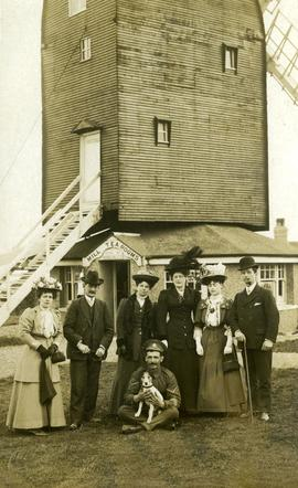 Family at High Salvington Windmill