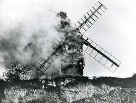 Fire at Sprowston Mill, Norwich