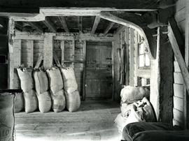 Sack storage area, Woodbridge Tide Mill, Suffolk