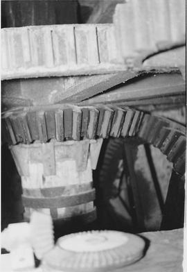 Longparish Upper Mill, Longparish, internal, pit wheel, wallower, spur wheel, stone nut