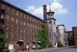 """Lowell, USA, Waterpowered Boot Mills """