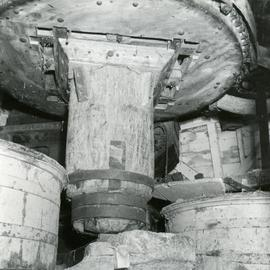 Machinery in smock mill, Earnley