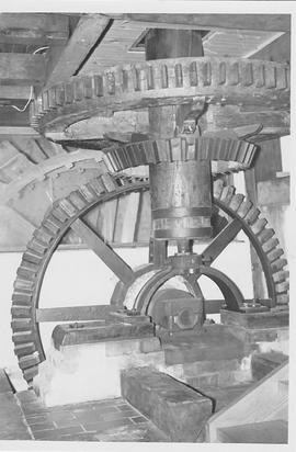 Town Mill, Whitchurch, internal, pit wheel, wallower, spur wheel