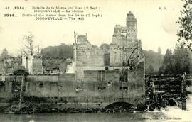 """1914 - Battle of the Marne (from the 6th to 12 Sept) Mogneville - The Mill"""
