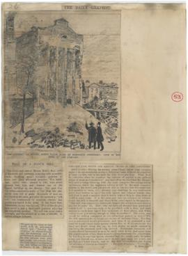 Fall of a Flour Mill, collapse at Kidd's Mills at Isleworth, and correspondence on mill fires