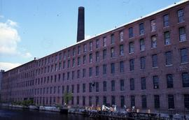 """Lowell, USA, Suffolk Textile Mill"""