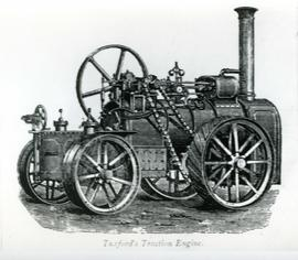 Tuxford's steam portable traction engine