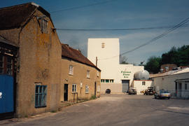 Bourton grain mill, left - Maggs and Hindley foundry site, Bourton