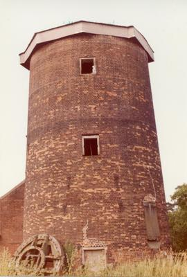 Conserved tower mill, Old Buckenham, Norfolk