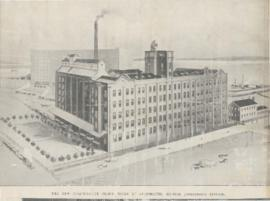"""The new Co-operative Flour Mills at Avonmounth, Bristol"""