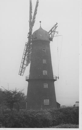 Sibsey Tower Mill, Sibsey, four sails, gallery, five storeys