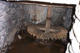 Horizontal waterwheel, Gran Canaria