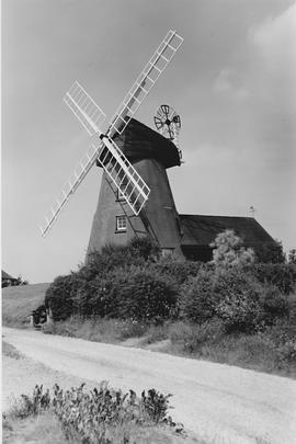 Great Bardfield Tower Mill, Great Bardfield, after conversion to house