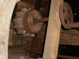 """Mystery nut"", post mill, Rolvenden"