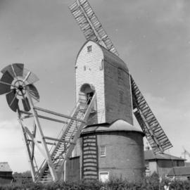 Friston post mill, Suffolk