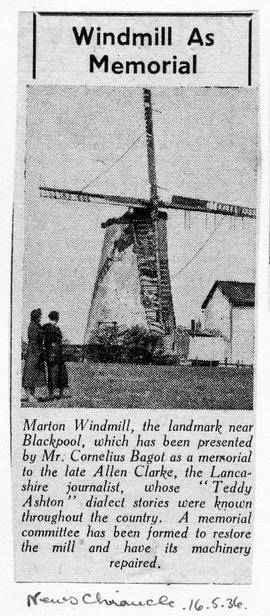 """Windmill As Memorial"""