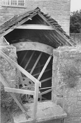 Thorney Mill, Thorney, wheel