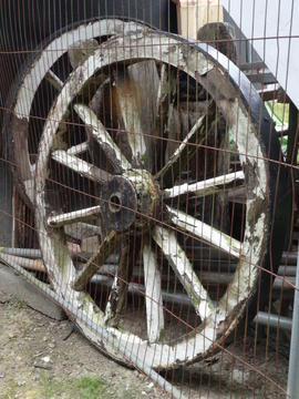 Fan carriage wheels, Argos Hill Mill, Mayfield