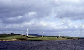 """Wind turbines Chelker Reservoir"""