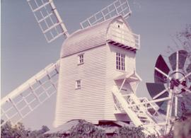 Exterior view, post mill, Holton, Suffolk