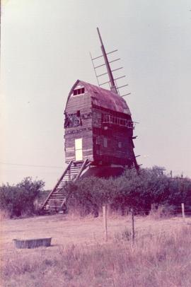 Exterior view, post mill, Garboldisham, Norfolk