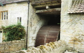 Bow Mill, Merriott - waterwheel by Coombs, Beaminster, Dorset