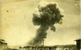 """Powder Mill Explosion June 24 1910"""