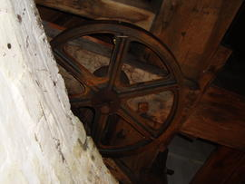 Truck wheel, Great Mill, Haddenham