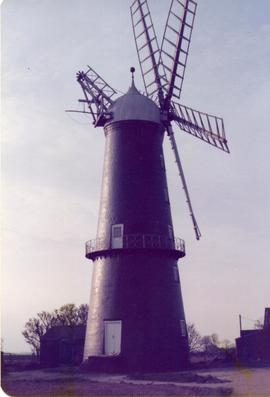 Tower mill (Trader Mill), Sibsey, Lincolnshire