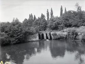 Sluice Gates of North Mill, Easebourne, Midhurst