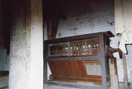 Silk screen flour dresser, Impington Mill, Histon and Impington